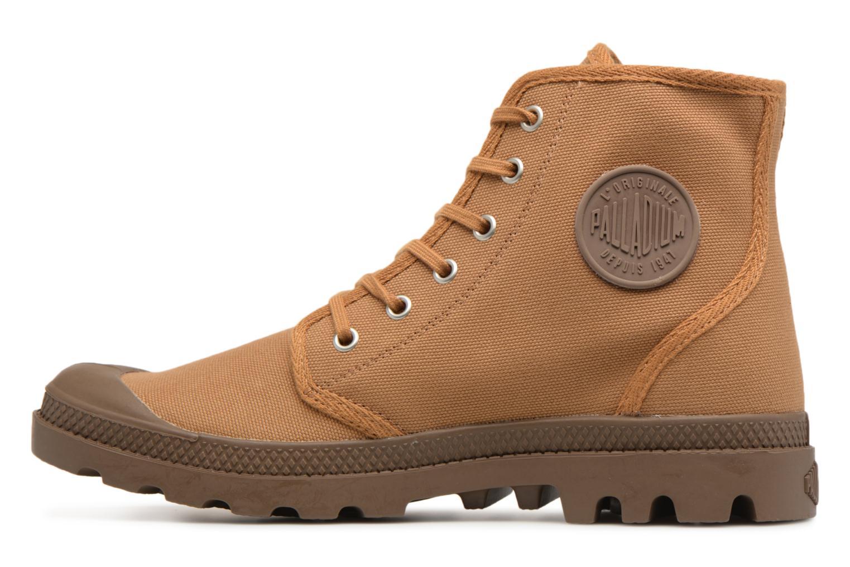 Sneakers Palladium Pampa Hi Orig U Marrone immagine frontale