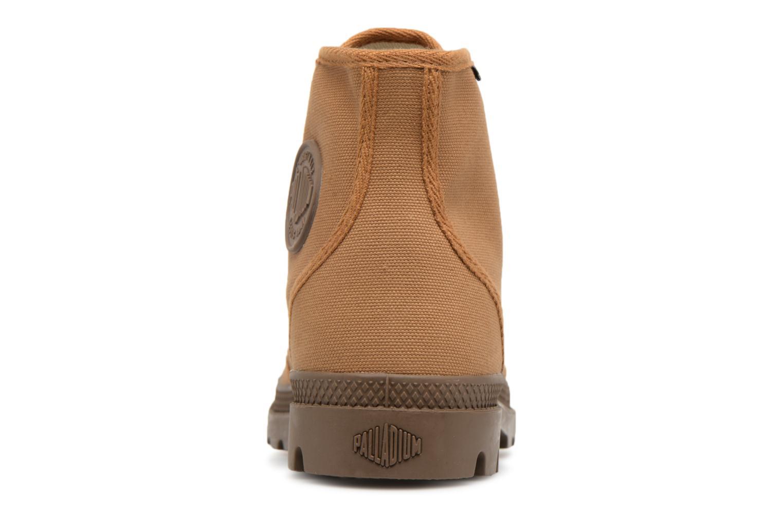 Sneakers Palladium Pampa Hi Orig U Marrone immagine destra