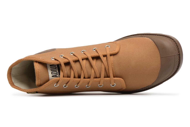 Sneakers Palladium Pampa Hi Orig U Marrone immagine sinistra