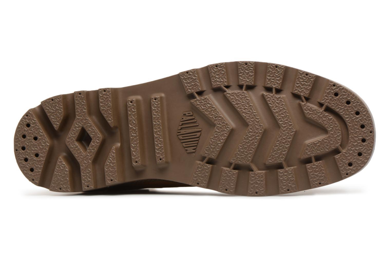 Sneakers Palladium Pampa Hi Orig U Marrone immagine dall'alto