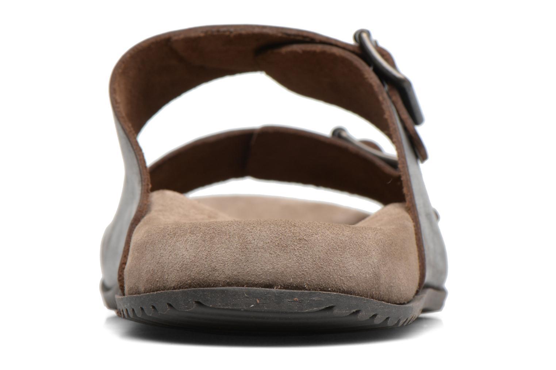 Sandalen Kickers Relaxou braun ansicht von rechts