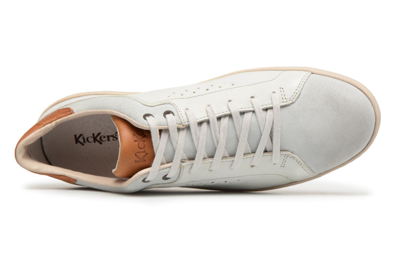 Sneaker Kickers Sniff weiß ansicht von links