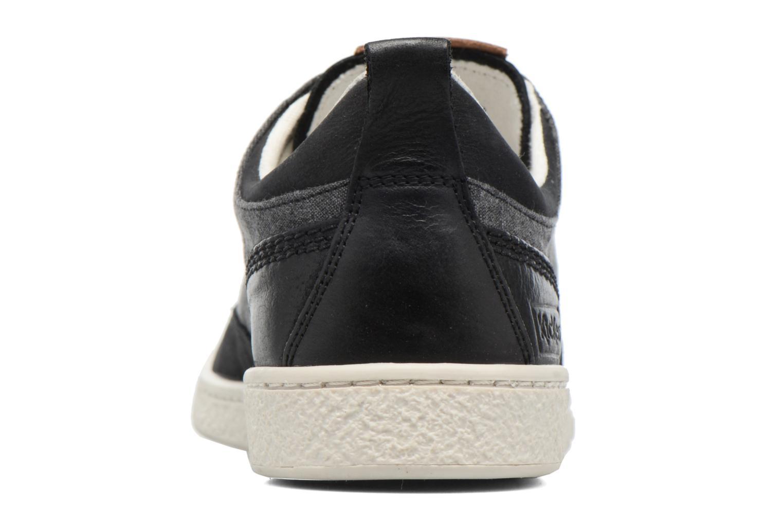 Sneaker Kickers Santa Fe schwarz ansicht von rechts