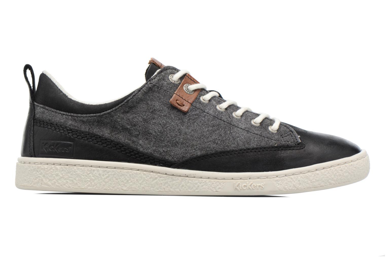 Sneakers Kickers Santa Fe Zwart achterkant