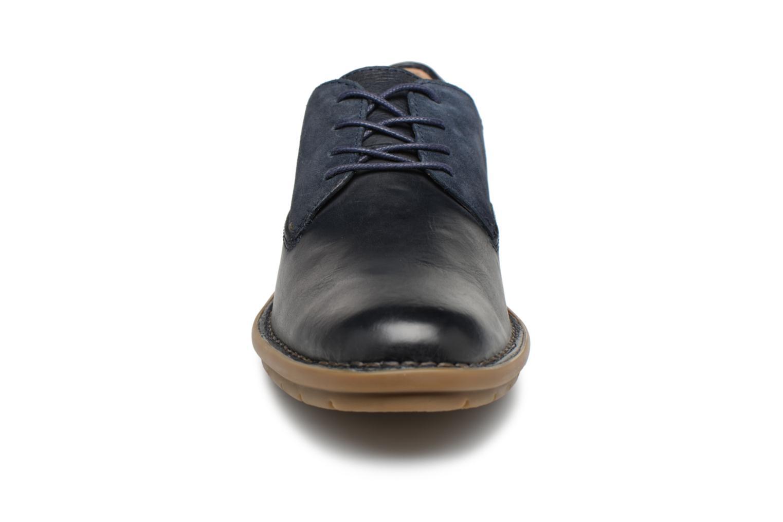 Chaussures à lacets Kickers Vildiur Bleu vue portées chaussures