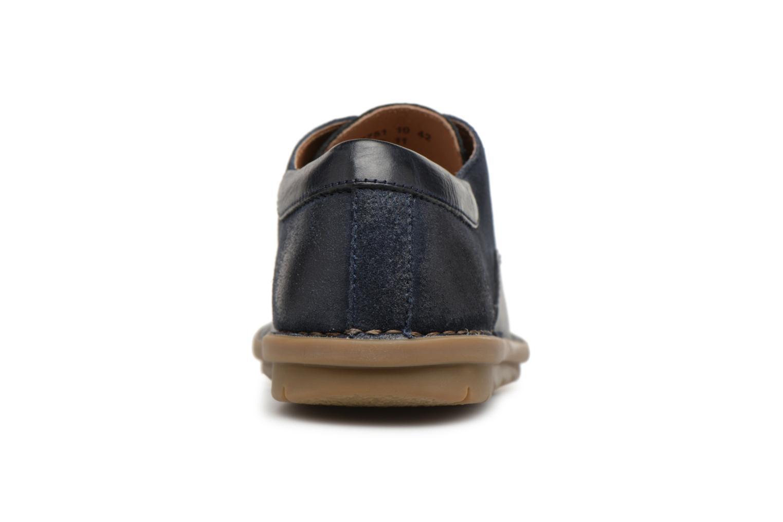 Chaussures à lacets Kickers Vildiur Bleu vue droite
