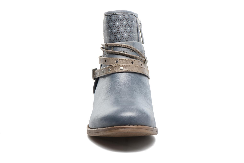 Bottines et boots Mustang shoes Calliope Gris vue portées chaussures