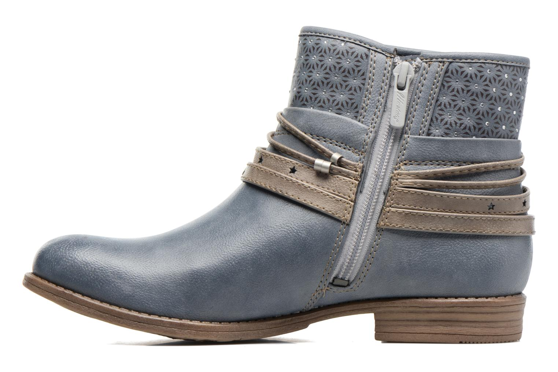 Bottines et boots Mustang shoes Calliope Gris vue face