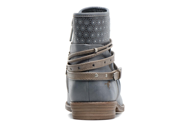 Bottines et boots Mustang shoes Calliope Gris vue droite