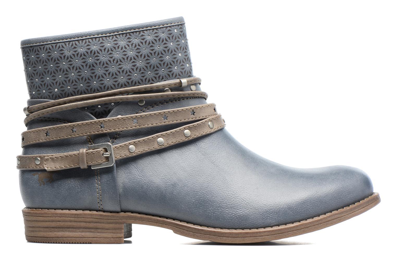 Bottines et boots Mustang shoes Calliope Gris vue derrière