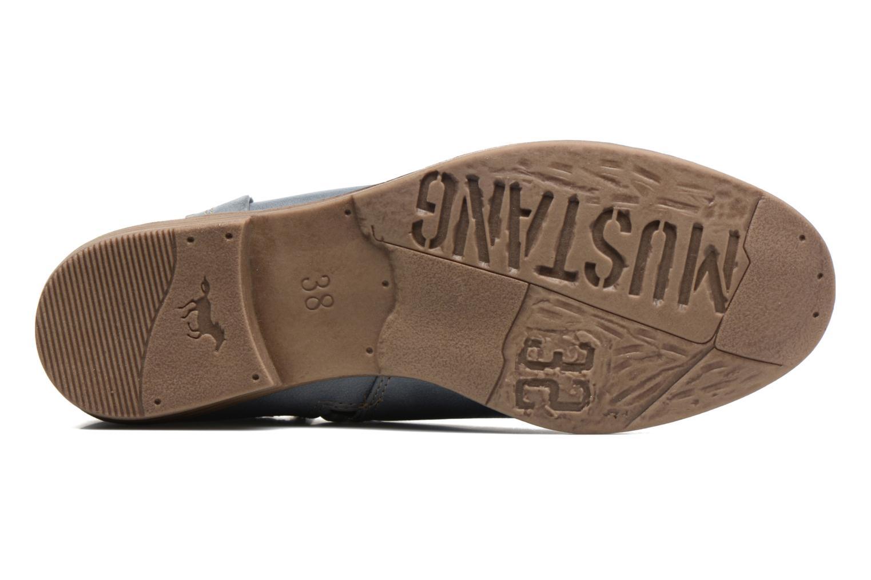 Bottines et boots Mustang shoes Calliope Gris vue haut