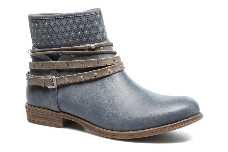 Bottines et boots Mustang shoes Calliope Gris vue détail/paire