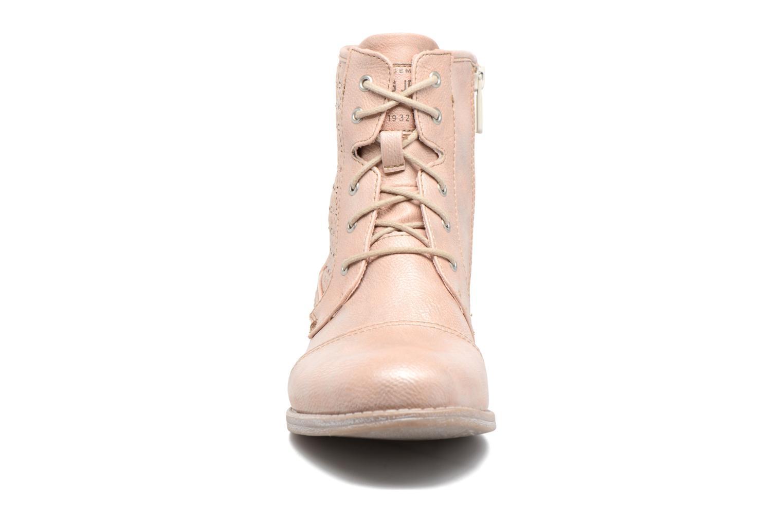 Bottines et boots Mustang shoes Chiara Rose vue portées chaussures