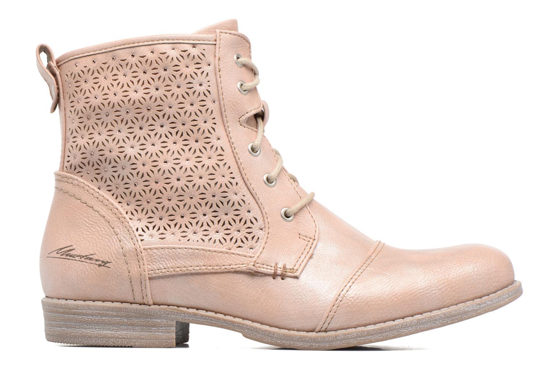 Bottines et boots Mustang shoes Chiara Rose vue derrière