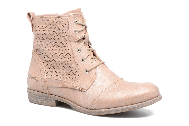 Bottines et boots Mustang shoes Chiara Rose vue détail/paire