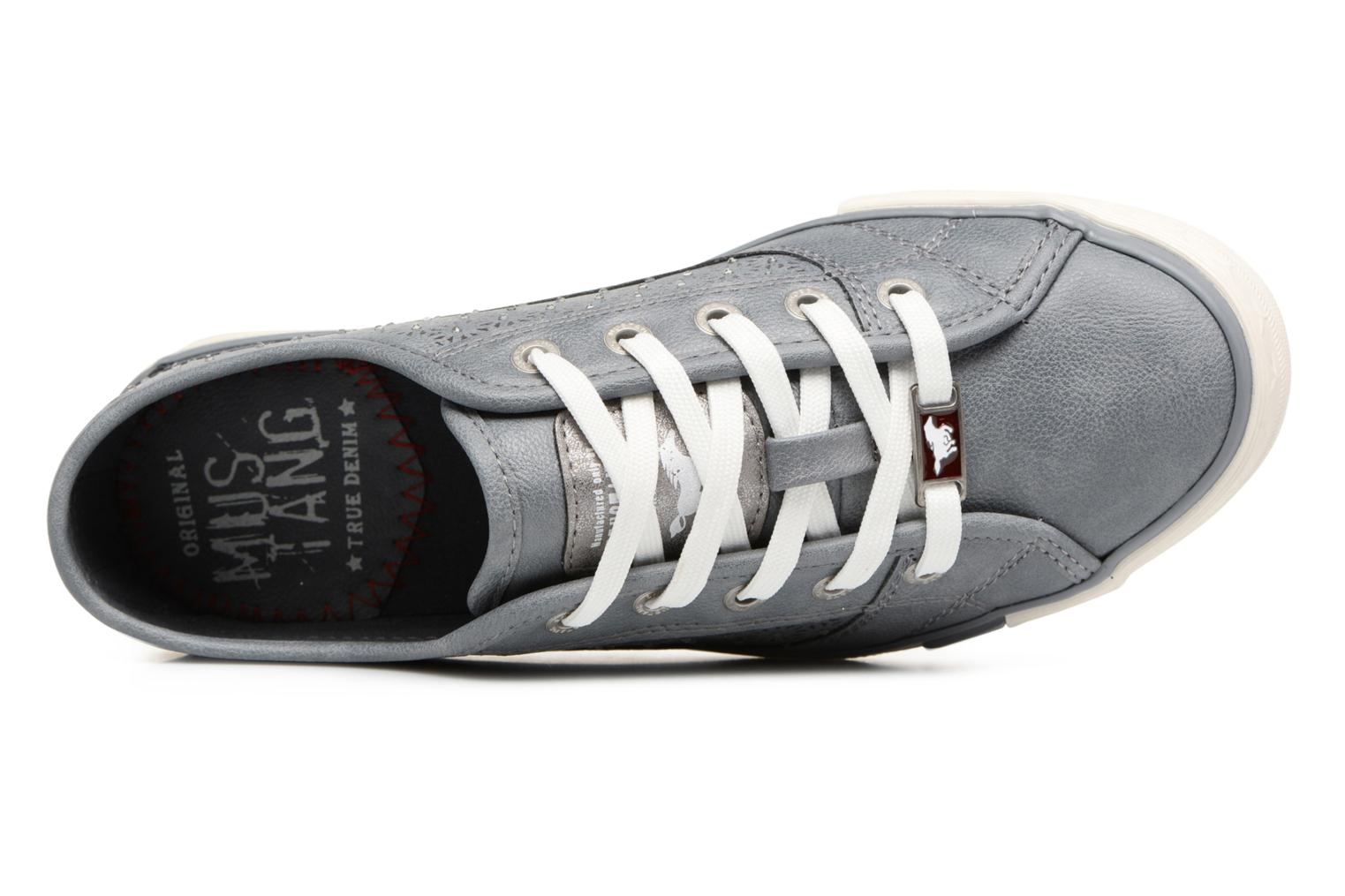 Baskets Mustang shoes Verena Gris vue gauche