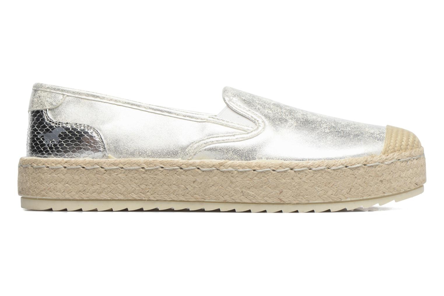 Espadrilles Mustang shoes Kathe Silver back view
