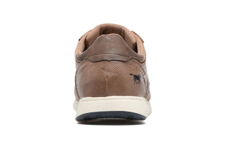 Baskets Mustang shoes Gregor Marron vue droite
