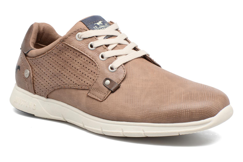 Baskets Mustang shoes Gregor Marron vue détail/paire