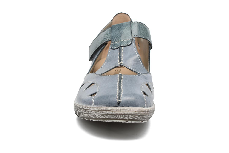 Sandales et nu-pieds Remonte Mila D3802 Bleu vue portées chaussures
