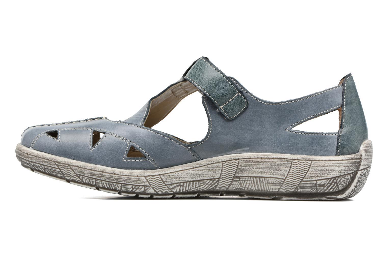 Sandales et nu-pieds Remonte Mila D3802 Bleu vue face