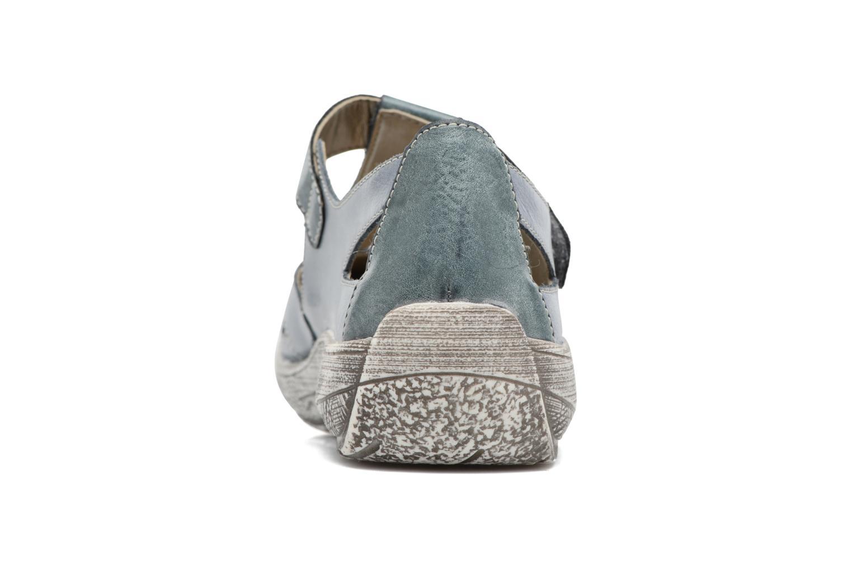 Sandales et nu-pieds Remonte Mila D3802 Bleu vue droite