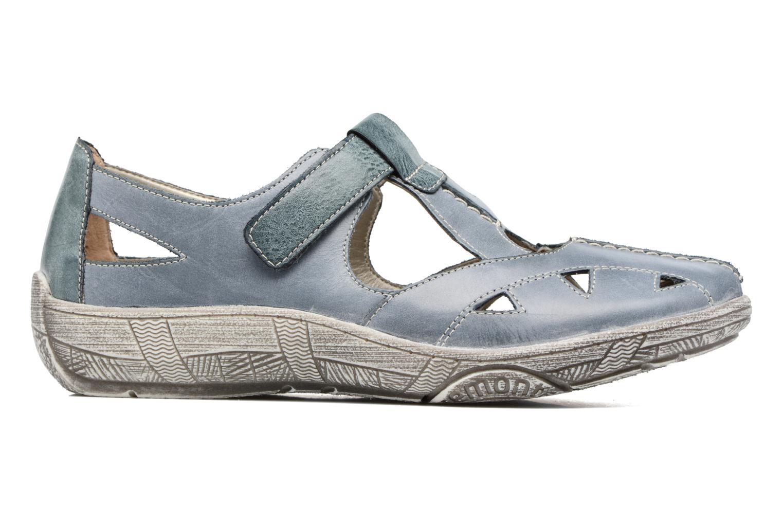 Sandales et nu-pieds Remonte Mila D3802 Bleu vue derrière
