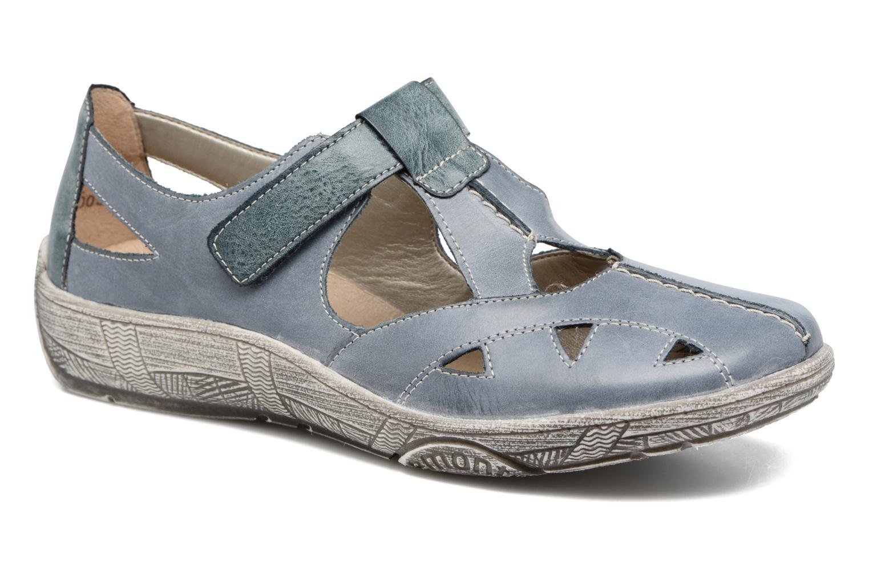 Sandales et nu-pieds Remonte Mila D3802 Bleu vue détail/paire
