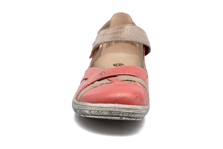 Ballerines Remonte Mila D3805 Rouge vue portées chaussures