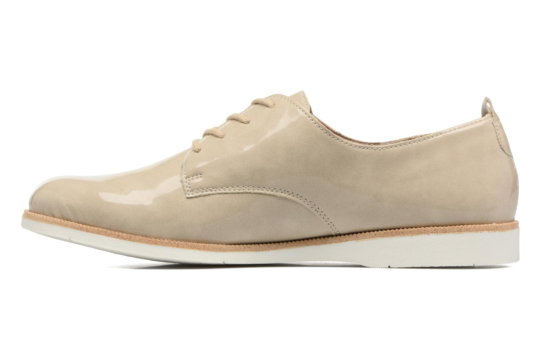 Chaussures à lacets Remonte Malou R0400 Beige vue face