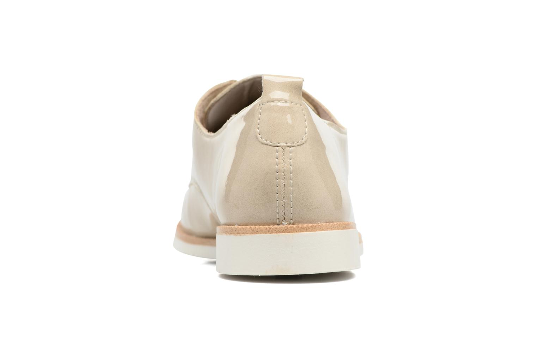 Chaussures à lacets Remonte Malou R0400 Beige vue droite