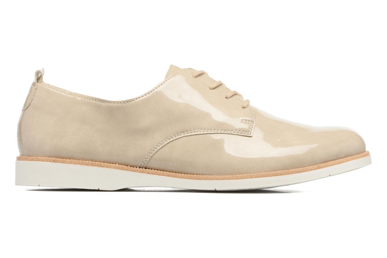Chaussures à lacets Remonte Malou R0400 Beige vue derrière
