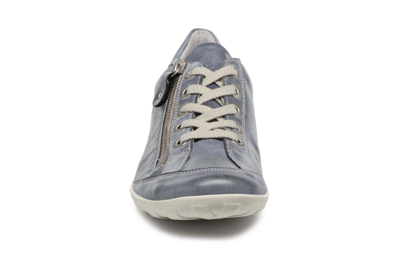 Sneaker Remonte Bora R3419 blau schuhe getragen