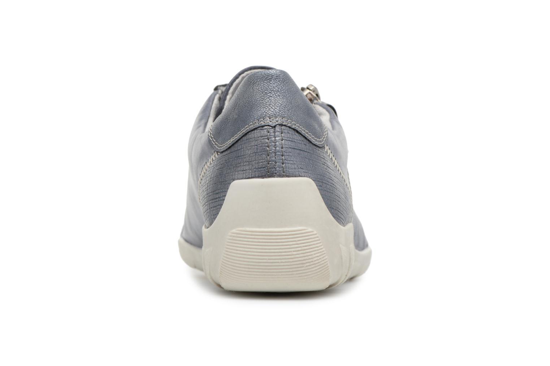Sneaker Remonte Bora R3419 blau ansicht von rechts