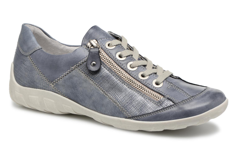Sneakers Remonte Bora R3419 Blå detaljeret billede af skoene