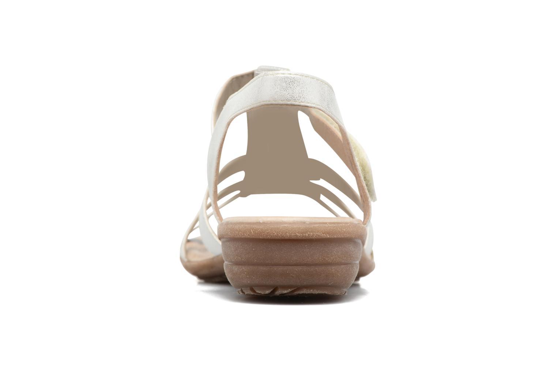 Sandaler Remonte Liloo R3637 Vit Bild från höger sidan