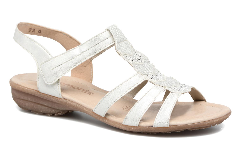 Liloo - R3637 Sandales Pour Les Femmes / Remonte Blanc jLHsY