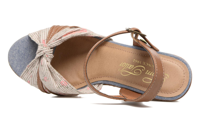 Sandales et nu-pieds Tom Tailor Estepona Marron vue gauche