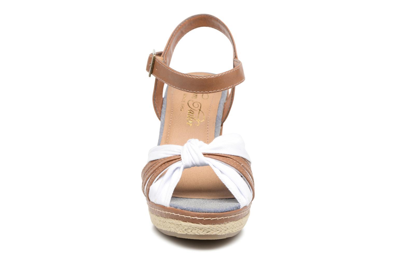 Sandales et nu-pieds Tom Tailor Estepona Blanc vue portées chaussures