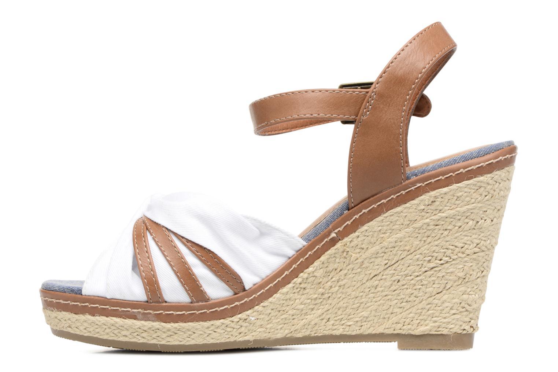 Sandales et nu-pieds Tom Tailor Estepona Blanc vue face