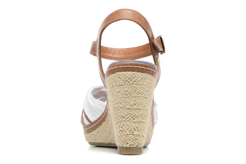 Sandales et nu-pieds Tom Tailor Estepona Blanc vue droite