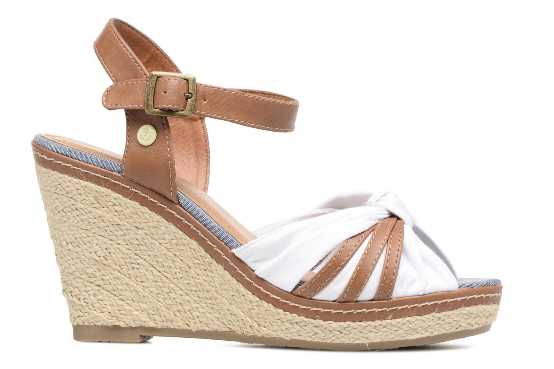 Sandales et nu-pieds Tom Tailor Estepona Blanc vue derrière