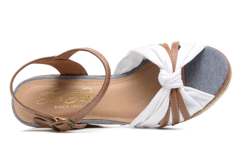 Sandales et nu-pieds Tom Tailor Estepona Blanc vue gauche