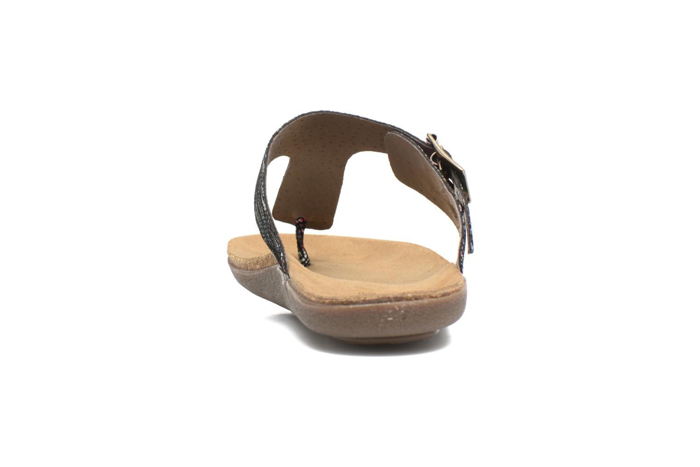 Sandales et nu-pieds Kickers Atobi Rouge vue droite