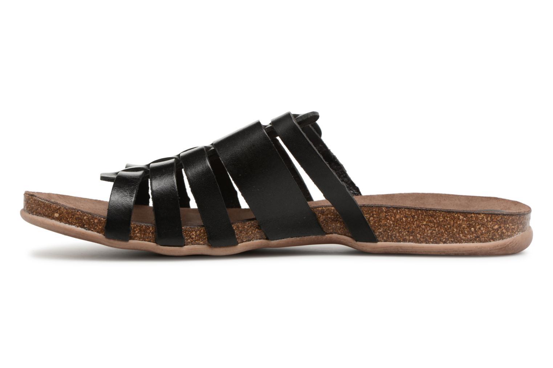 Sandalen Kickers Anaelle Zwart voorkant