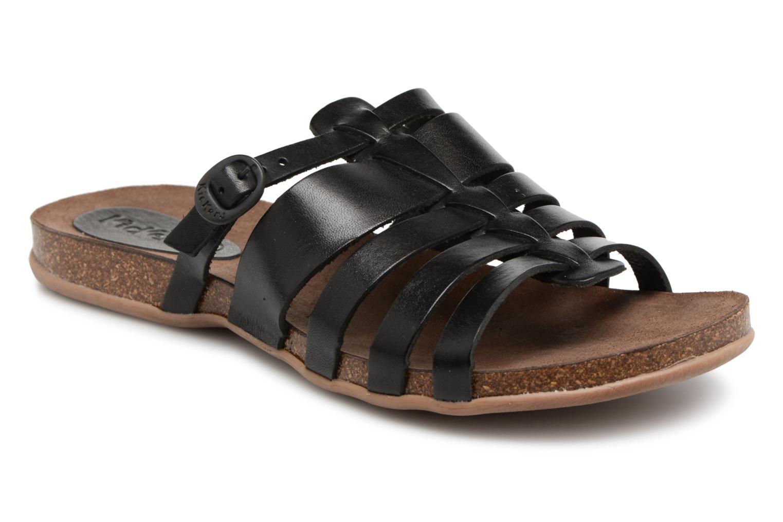 Sandalen Kickers Anaelle Zwart detail