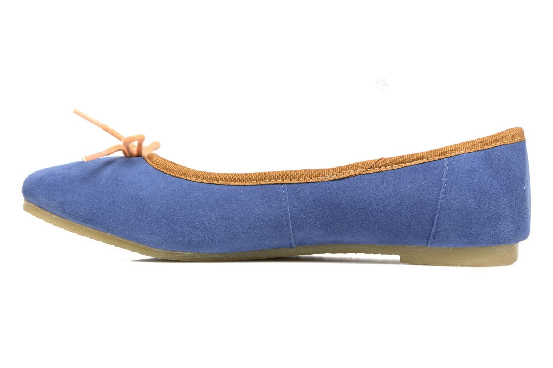 Ballerinas Kickers Baie blau ansicht von vorne