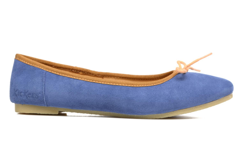 Ballerina's Kickers Baie Blauw achterkant