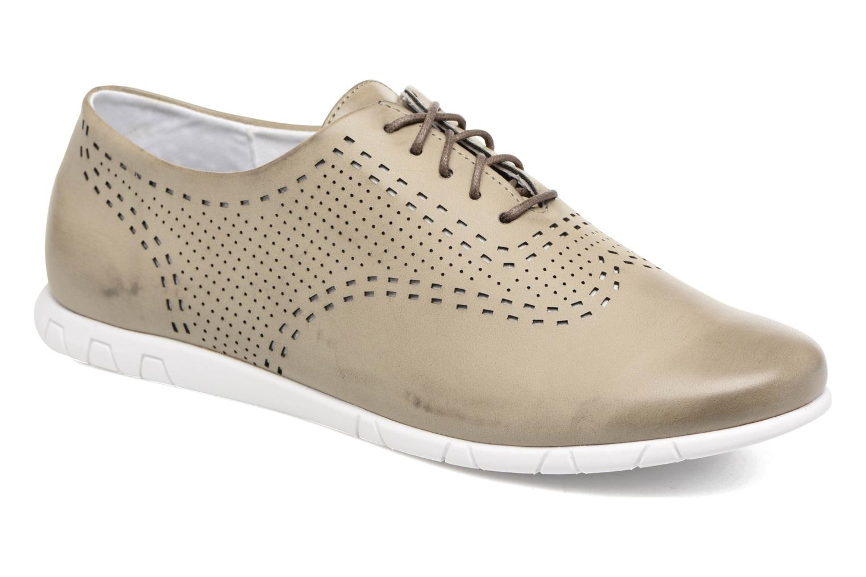 Chaussures à lacets Kickers Becki Gris vue détail/paire