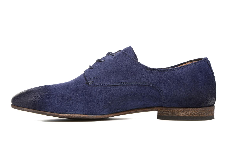 Chaussures à lacets Kickers Galla Bleu vue face